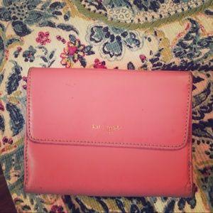 Pink & Green Kate Spade Wallet